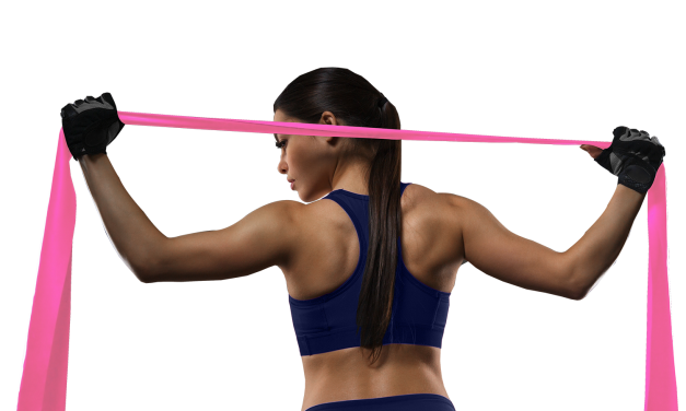 Long Exercise Bands – 6.5 ft Flat Resistance Bands