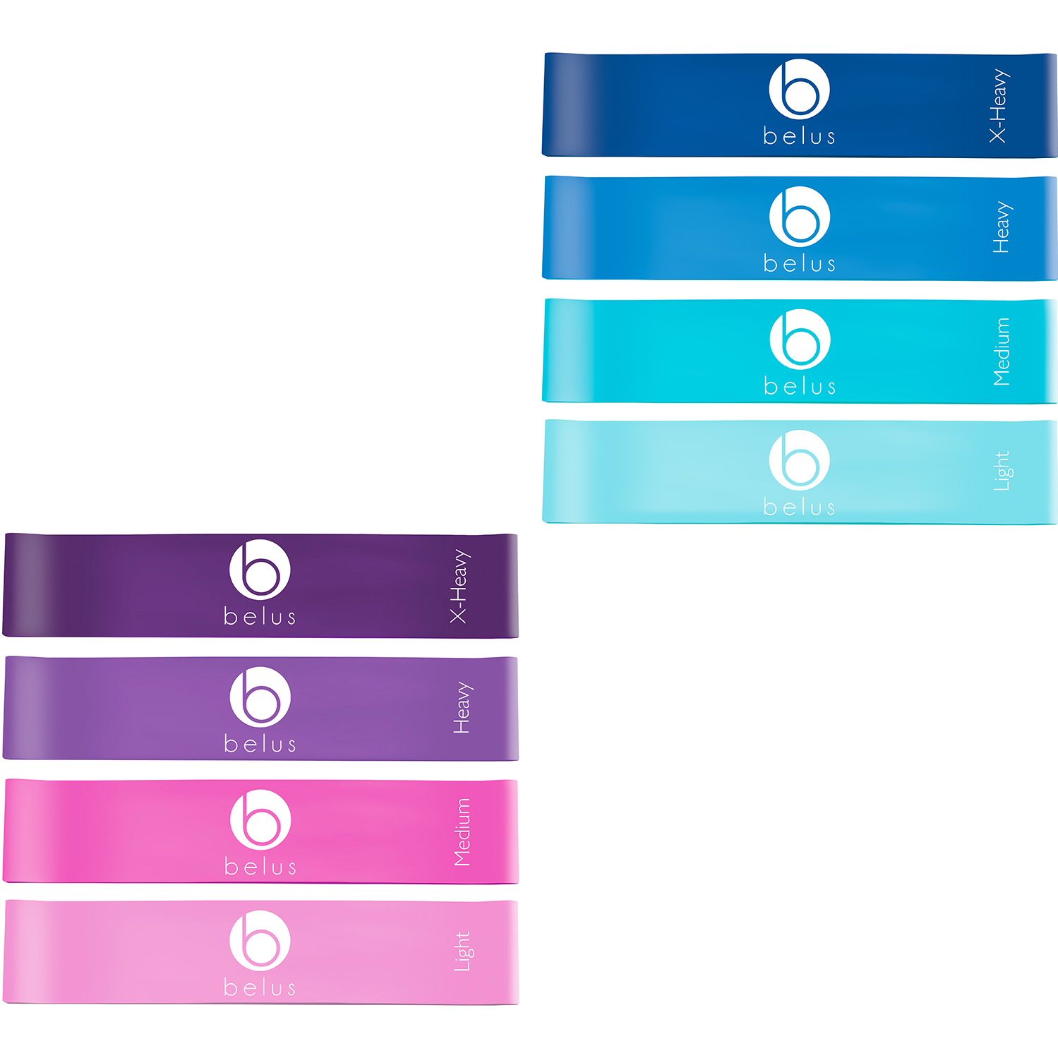 Blue and Pink Loop bands