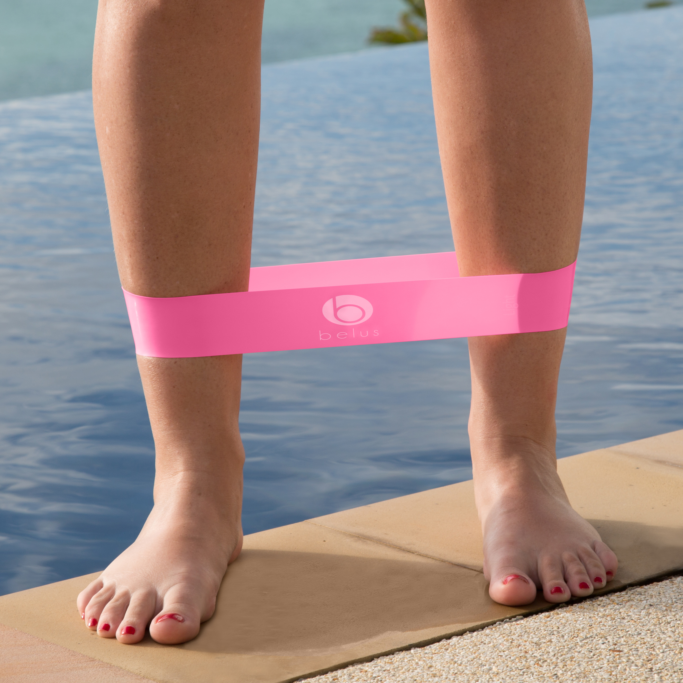 resistance loop band medium pink