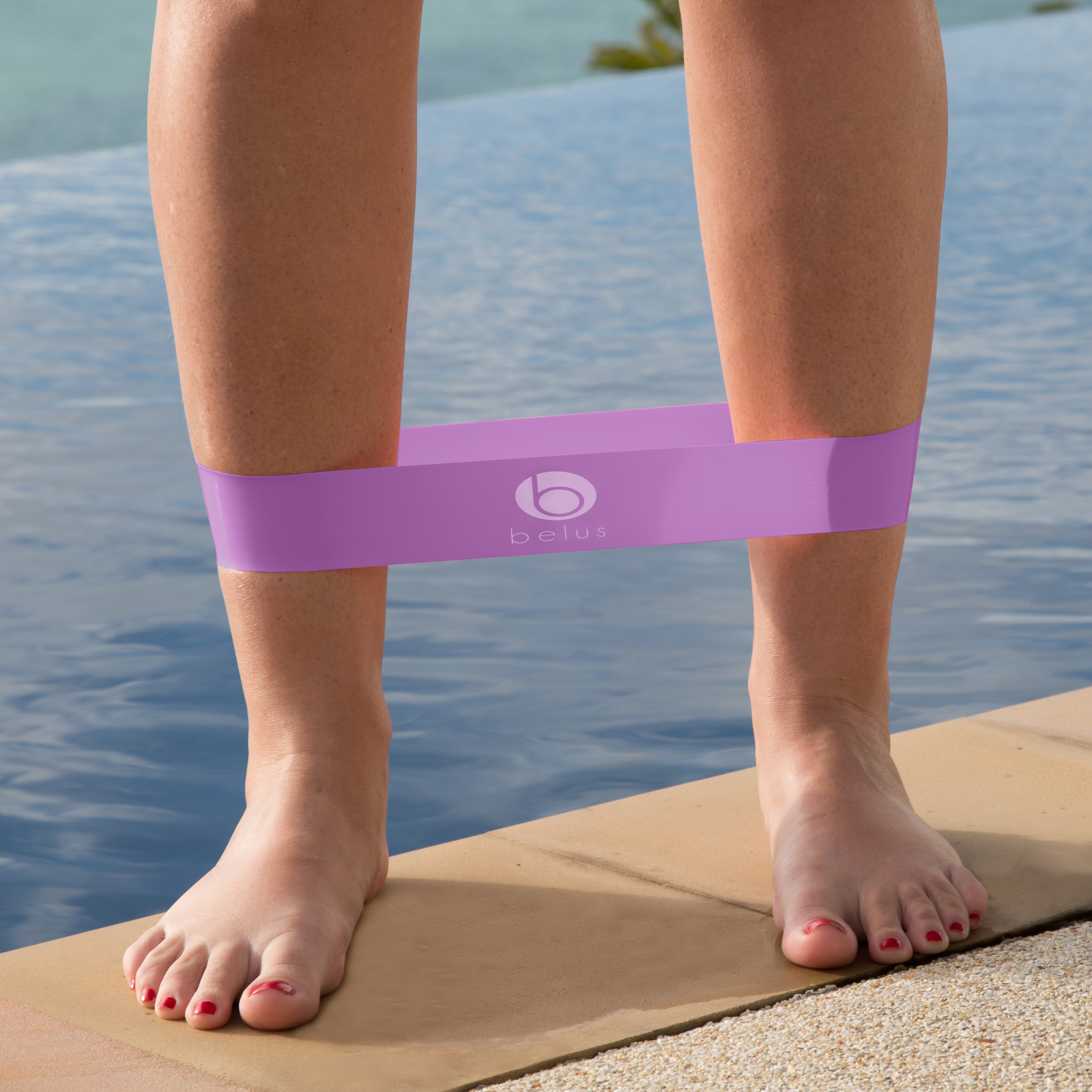 resistance loop band medium purple