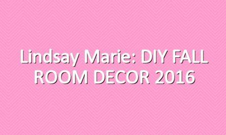 Lindsay Marie: DIY FALL ROOM DECOR 2016