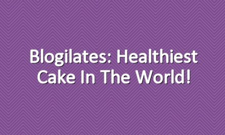 Blogilates: Healthiest Cake in the World!