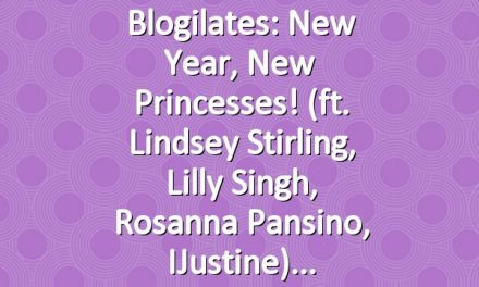 Blogilates: New Year, New Princesses! (ft. Lindsey Stirling, Lilly Singh, Rosanna Pansino, iJustine)
