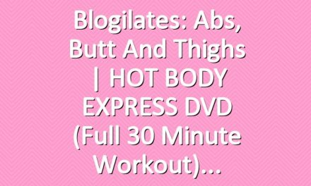 Blogilates: Abs, Butt and Thighs | HOT BODY EXPRESS DVD (Full 30 minute workout)