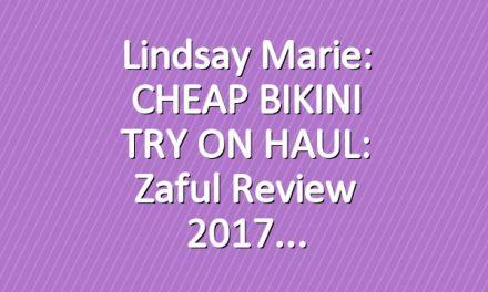 Lindsay Marie: CHEAP BIKINI TRY ON HAUL: Zaful Review 2017