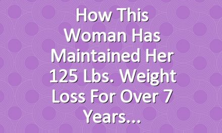 How This Woman Has Maintained Her 125 Lbs. Weight Loss for Over 7 Years
