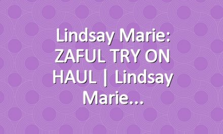 Lindsay Marie: ZAFUL TRY ON HAUL | Lindsay Marie