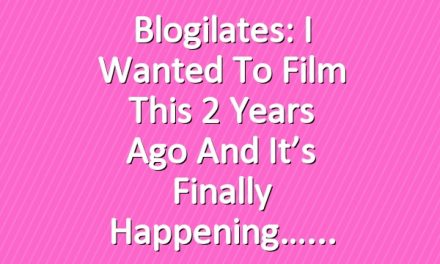 Blogilates: I wanted to film this 2 years ago and it's finally happening…