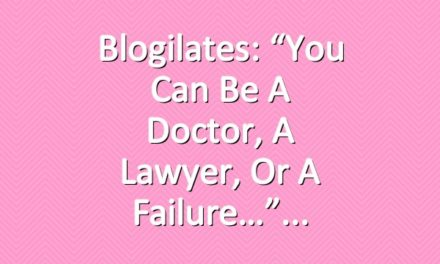 """Blogilates: """"You can be a doctor, a lawyer, or a failure…"""""""